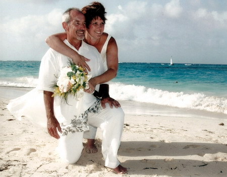 Randy & Pauline Thibert, one of our happily married clients - click to view larger photo
